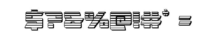 Oceanic Drift Chrome Font OTHER CHARS