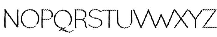 Ocie Light Font UPPERCASE