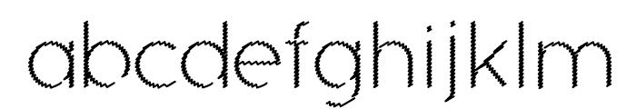 Ocie Light Font LOWERCASE