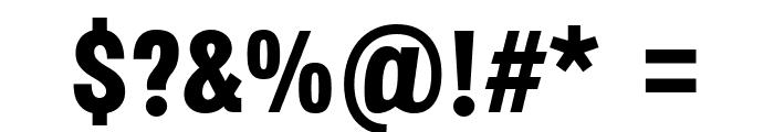 Octagen Black Black Font OTHER CHARS