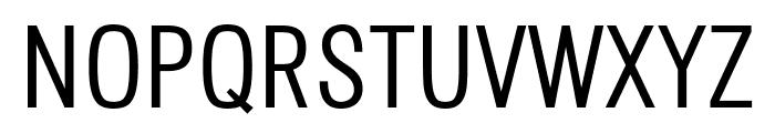 Octagen Light Regular Font UPPERCASE