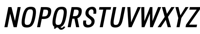 Octagen Roman Italic Font UPPERCASE