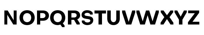 Octarine-Bold Font UPPERCASE