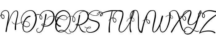Octhovia Demo Regular Font UPPERCASE