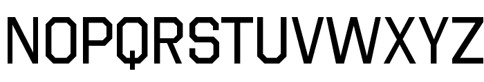 Octin College Free Font UPPERCASE