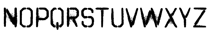 Octin Spraypaint Free Font LOWERCASE
