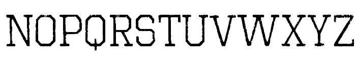 Octin Vintage Free Font LOWERCASE