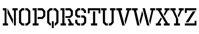 OctinPrisonRg-Regular Font LOWERCASE