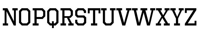 OctinSportsRg-Regular Font LOWERCASE