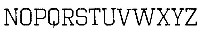 OctinVintageBRg-Regular Font UPPERCASE