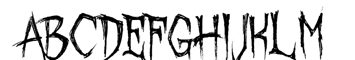 October Crow Font LOWERCASE