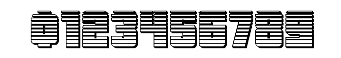 October Guard Chrome Regular Font OTHER CHARS
