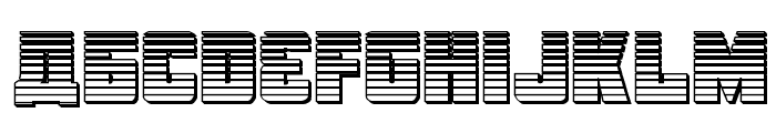 October Guard Chrome Regular Font LOWERCASE