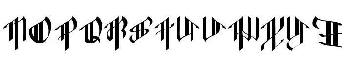 OctopustypeRegular Font UPPERCASE
