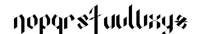 OctopustypeRegular Font LOWERCASE