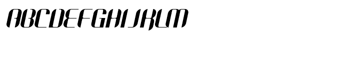 Octane Premium Font UPPERCASE