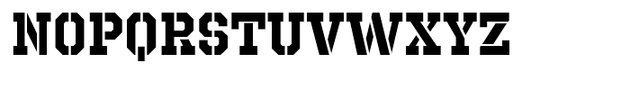Octin Prison Bold Font LOWERCASE
