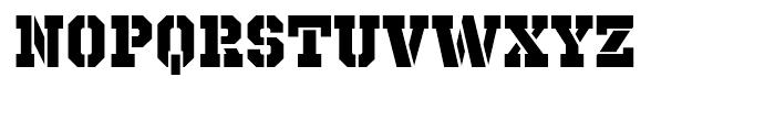 Octin Prison Heavy Font LOWERCASE