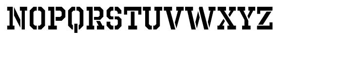Octin Prison Semibold Font LOWERCASE