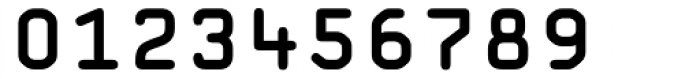 OCR A Tribute Bold Monospaced Font OTHER CHARS