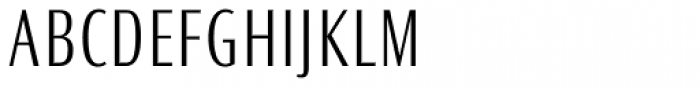 Ocean Sans Pro Condensed Light Font UPPERCASE
