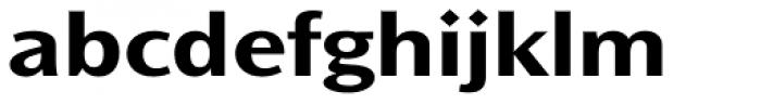 Ocean Sans Std Bold Extd Font LOWERCASE