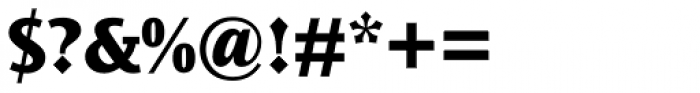Ocean Sans Std ExtraBold Font OTHER CHARS