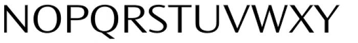Ocean Sans Std Light Extd Font UPPERCASE