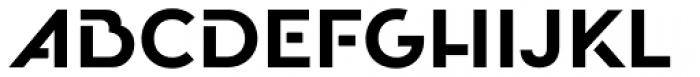 Oceanshore Semi Bold Font UPPERCASE