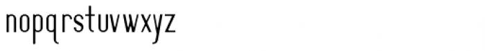 Oceantide Display Regular Font LOWERCASE