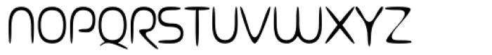 Ocelca ExtraLight Font UPPERCASE