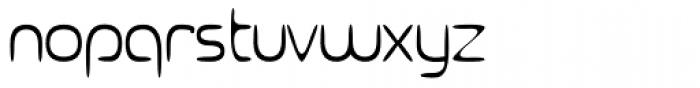 Ocelca ExtraLight Font LOWERCASE