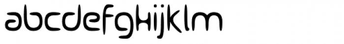 Ocelca Light Font LOWERCASE