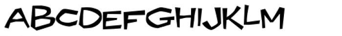Ocovilla AOE Font LOWERCASE
