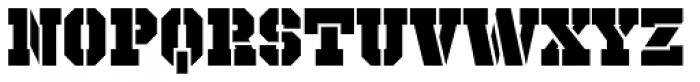 Octin Prison Black Font LOWERCASE