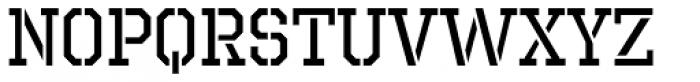 Octin Prison Regular Font UPPERCASE