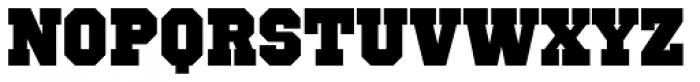 Octin Sports Black Font LOWERCASE
