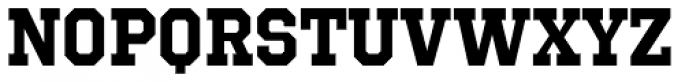 Octin Sports Bold Font LOWERCASE