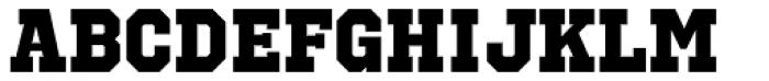 Octin Sports Heavy Font UPPERCASE