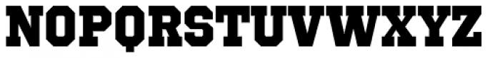 Octin Sports Heavy Font LOWERCASE