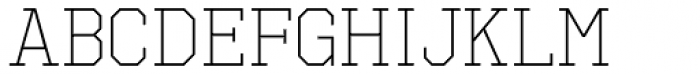 Octin Sports Light Font LOWERCASE