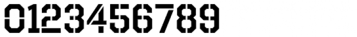 Octin Stencil SemiBold Font OTHER CHARS