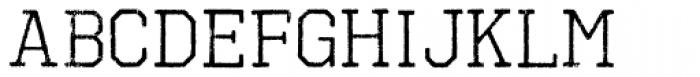 Octin Vintage B Regular Font LOWERCASE