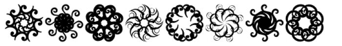 Octopies Font LOWERCASE