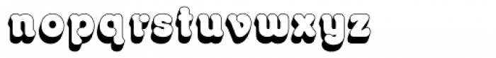 Octopuss Shadow Font LOWERCASE