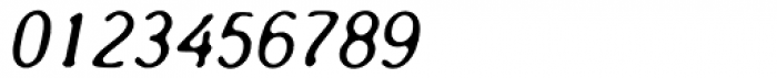 Oculus AGauge Oblique Font OTHER CHARS