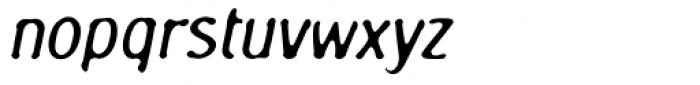 Oculus AGauge Oblique Font LOWERCASE