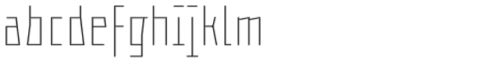 ocr-t 02 Brightwhite Font LOWERCASE