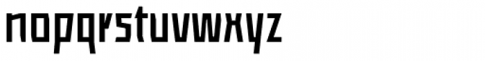 ocr-t 08 Anthracite Font LOWERCASE