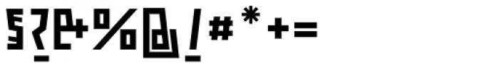 ocr-t 09 Black Font OTHER CHARS